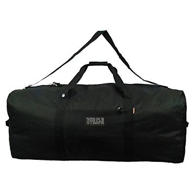 K-Cliffs Heavy Duty Cargo Duffel Large Sport Gear Equipment