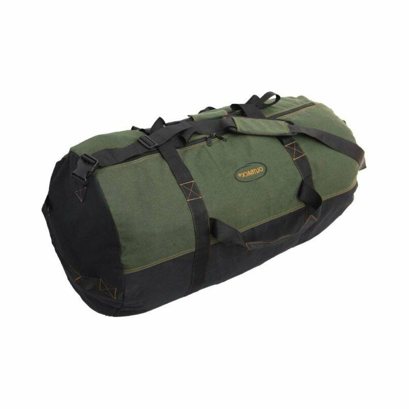 heavyweight cotton canvas outback duffle bag