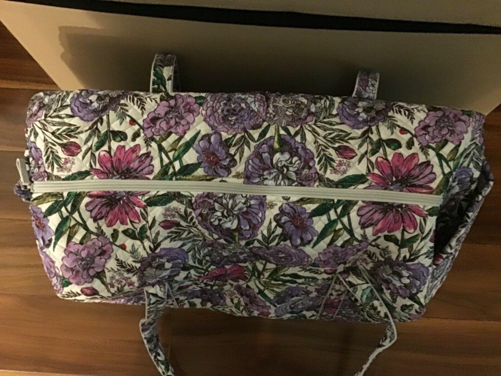 Vera Bradley Iconic Travel Bag Meadow