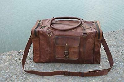 KPL 21 Inch Leather Travel Sports Weekend