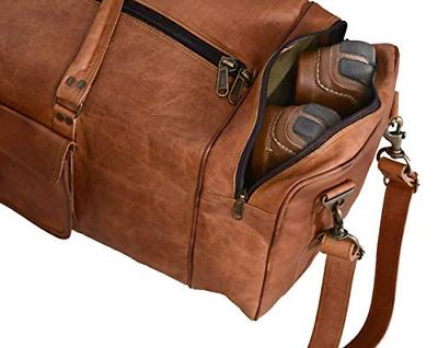 KPL 30 Inch Large Leather Duffel