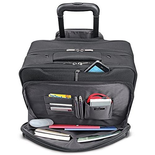 Solo Rolling Laptop Overnighter Black