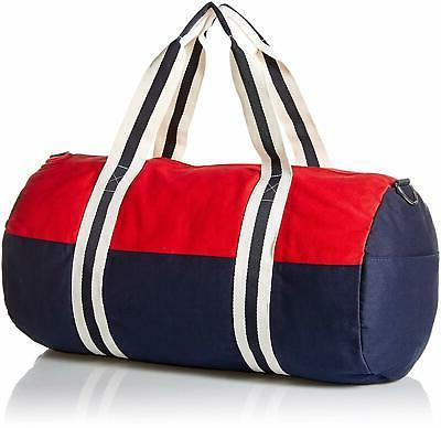 TOMMY GYM DUFFLE NAVY WOMENS UNISEX