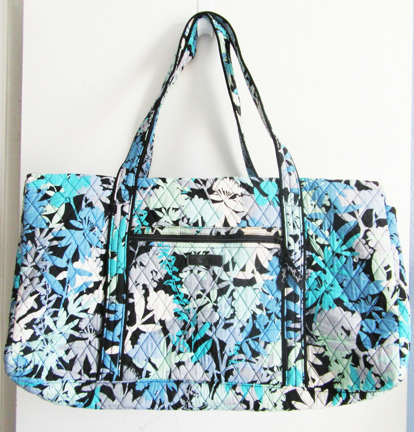 large duffle bag in camofloral