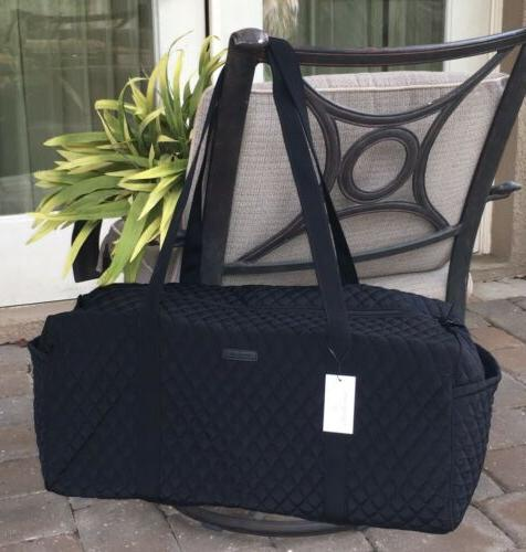 large traveler duffel bag classic black overnight
