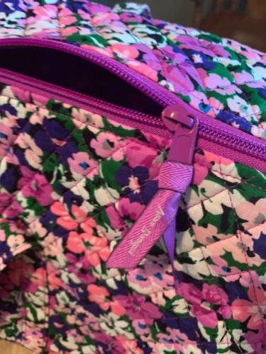 Vera LARGE DUFFEL FLOWER Traveler Bag ~ NWT