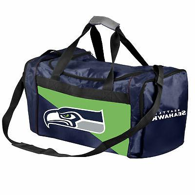 licensed nfl two tone duffle