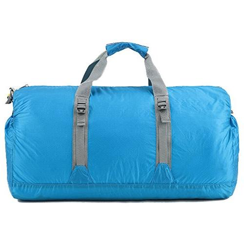 G4Free 60L Lightweight Portable Travel Duffel for Gym Sports Luggage Camping