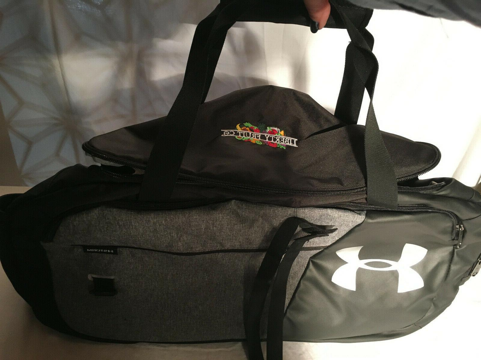 """Under Armour Undeniable 25"""" Duffle Bag SILVER NEW"""