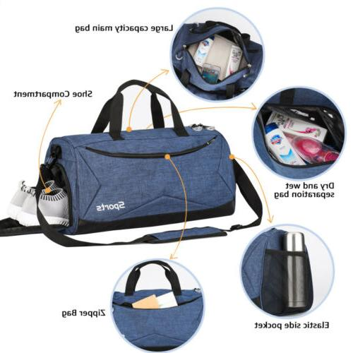 35L Travel Duffle Men's Tote Overnight Luggage