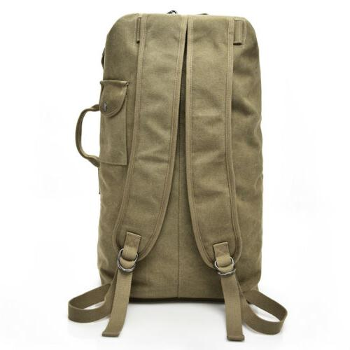 25L Canvas Backpack Bag Sports Travel