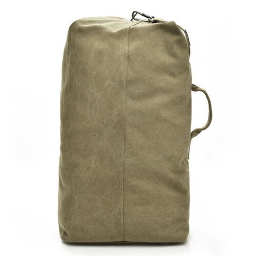 Men's Canvas Hiking Travel Military Handbag