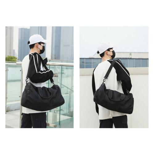 Men Bag Sports Flight Carry Weekend Bag