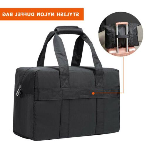 Men Gym Duffle Bag Weekend Bag Nylon Tote