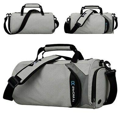 Men Waterproof Nylon Fitness Holdall Gym Travel !