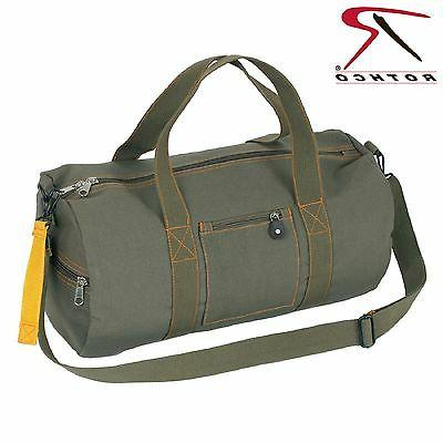 Military Type Olive Drab Green Equipment Bag w/