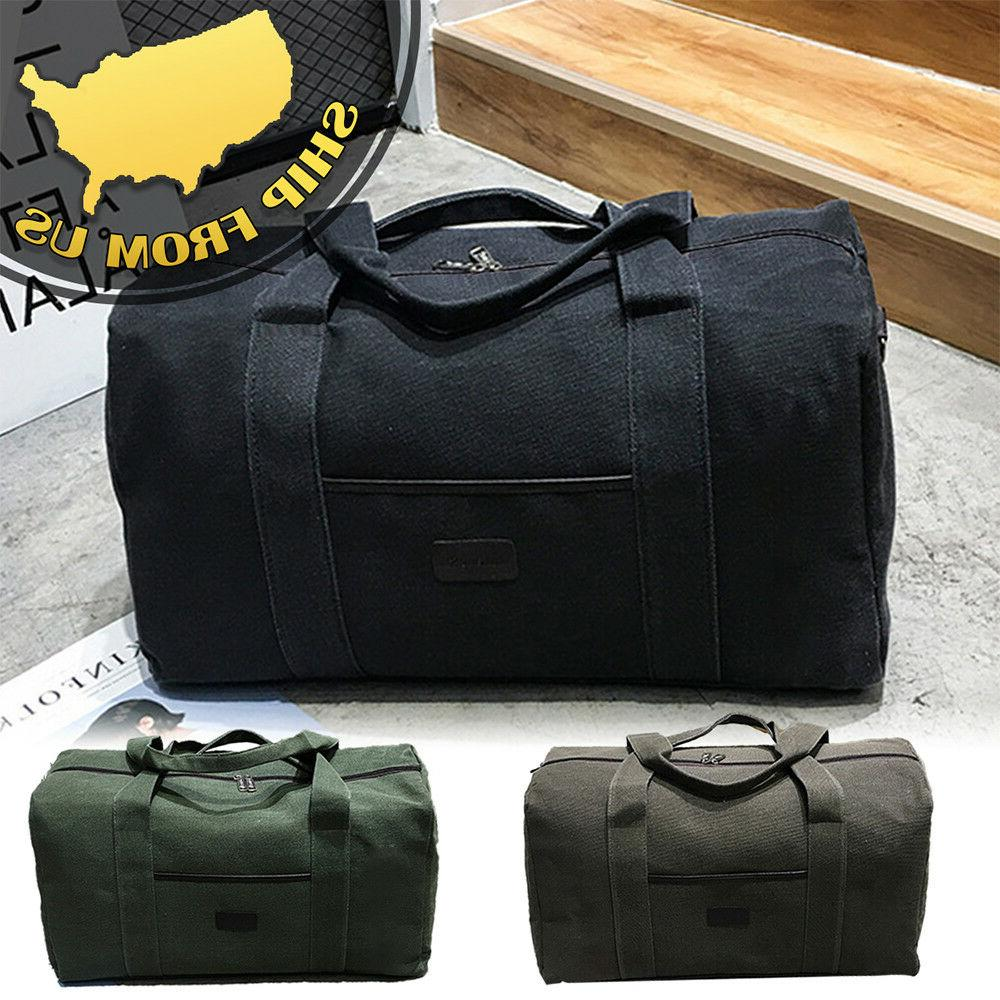 new men s military canvas duffle luggage