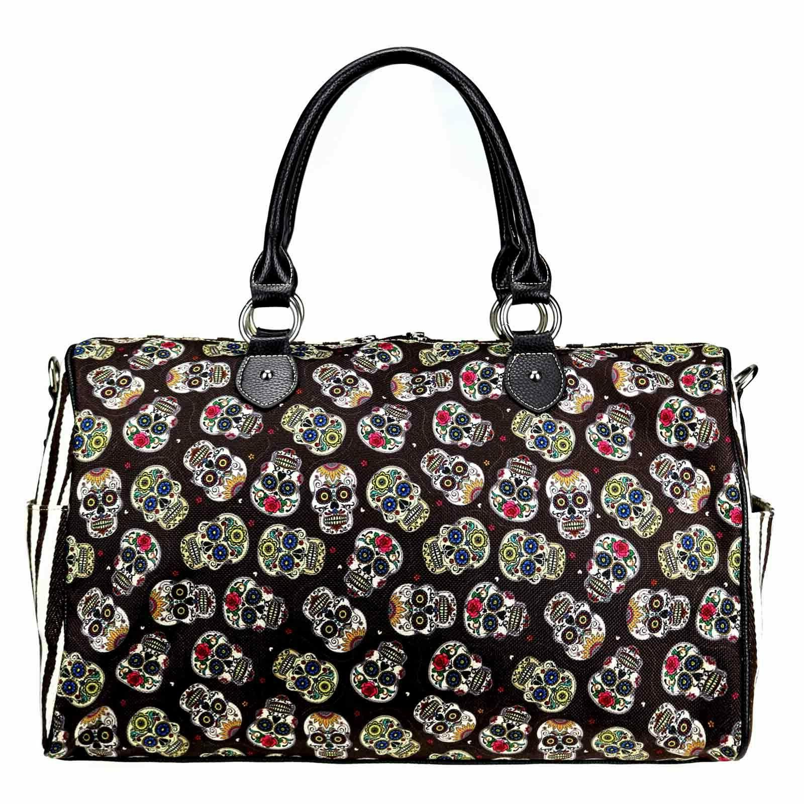 Men Canvas Duffle Gym Weekend Carry Luggage