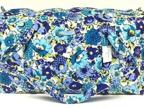 nwt large duffel bag in blueberry blooms