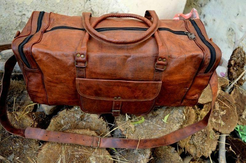 Old Duffle Bag weekend Travel AirCabin Luggage
