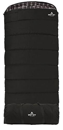 TETON Sports Outfitter XXL Sleeping Bag; Warm, Comfortable S