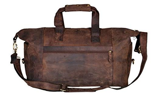oversized leather tote duffel shoulder