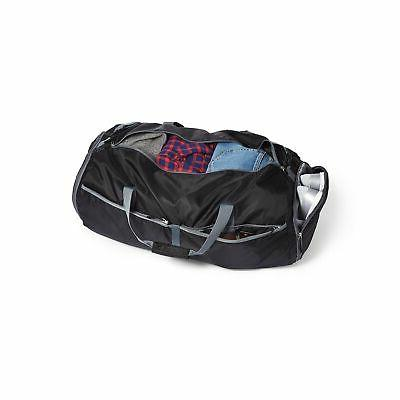 AmazonBasics Packable Travel Duffel Inch, Black