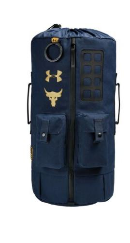 Under Armour Dwayne 60 Black Duffle Gym Backpack Day!