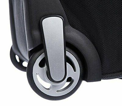 AmazonBasics Ripstop Luggage Duffle Bag With Wheels 30 Bl