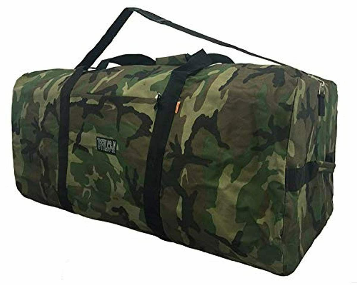Rockland 40 Rolling Camouflage X-Large Suitcase