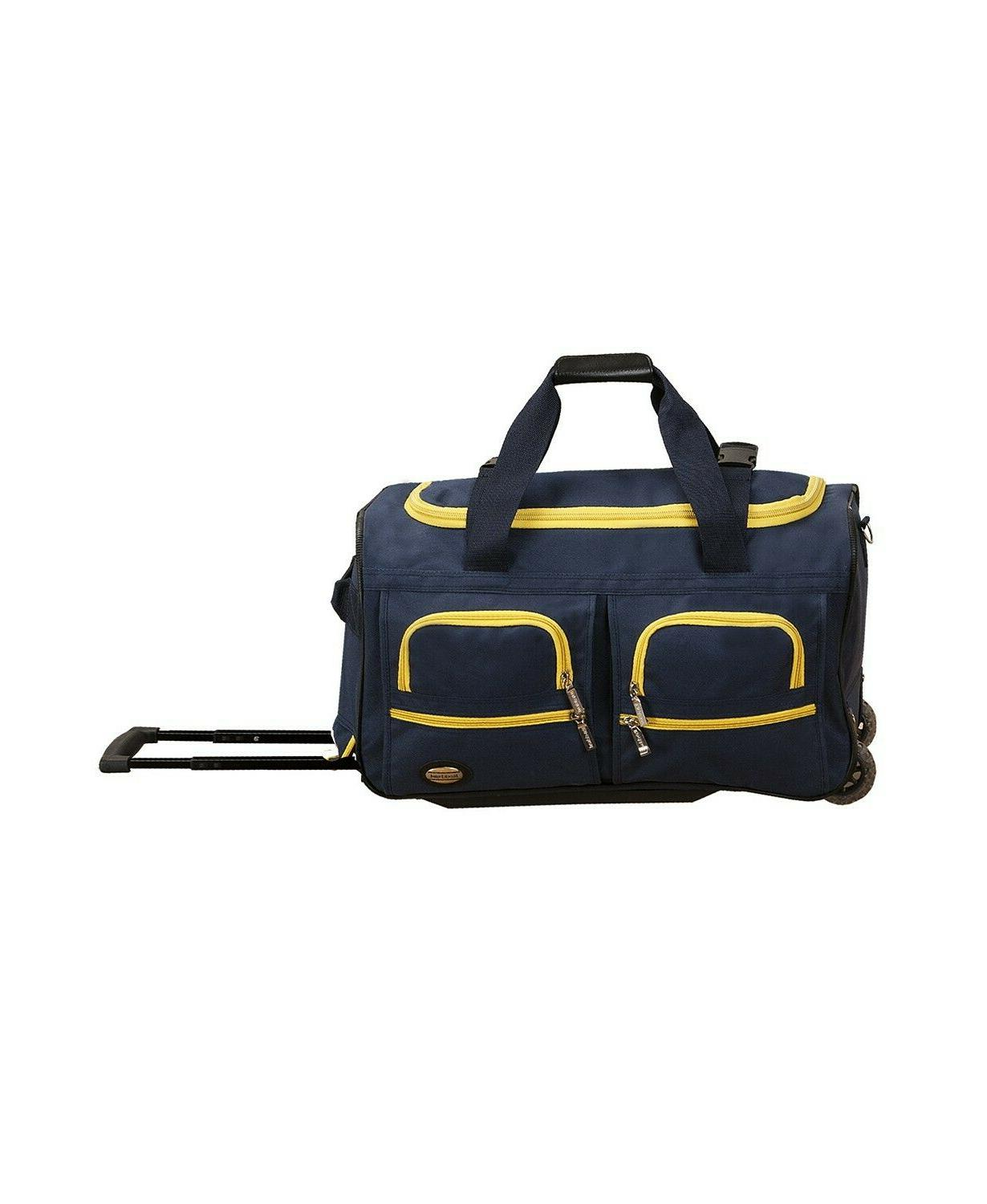 Rockland Luggage Rolling Duffle
