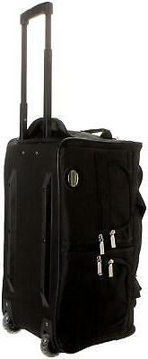 Rolling Duffle Luggage 22 Inch Carry On Zipper New