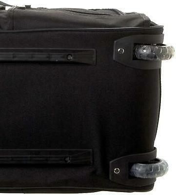 Rolling Luggage 22 Inch Carry On Zipper New