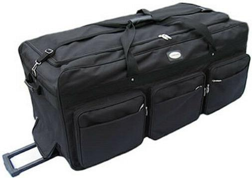 large 42 rolling wheeled duffel bags luggage