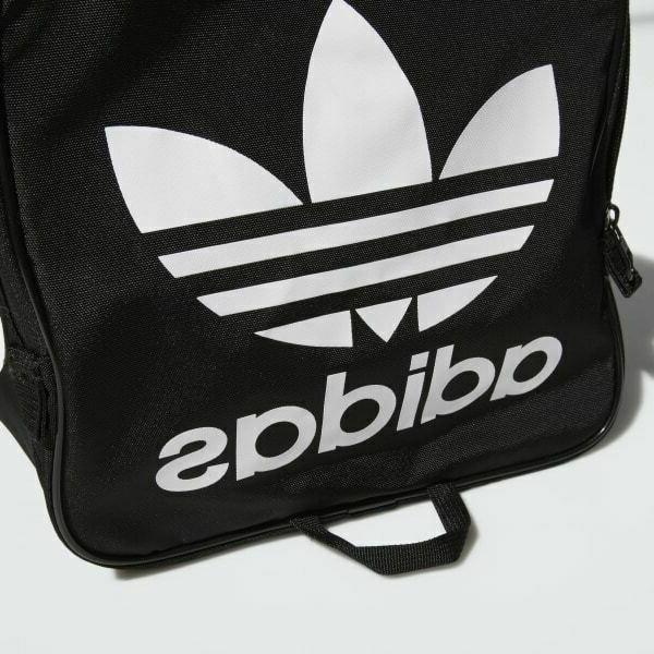 Adidas Duffel Black White School