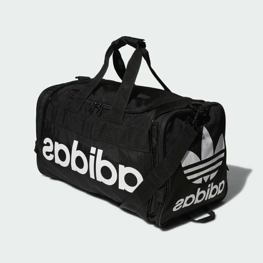 santiago duffel bag black white ch7666 gym