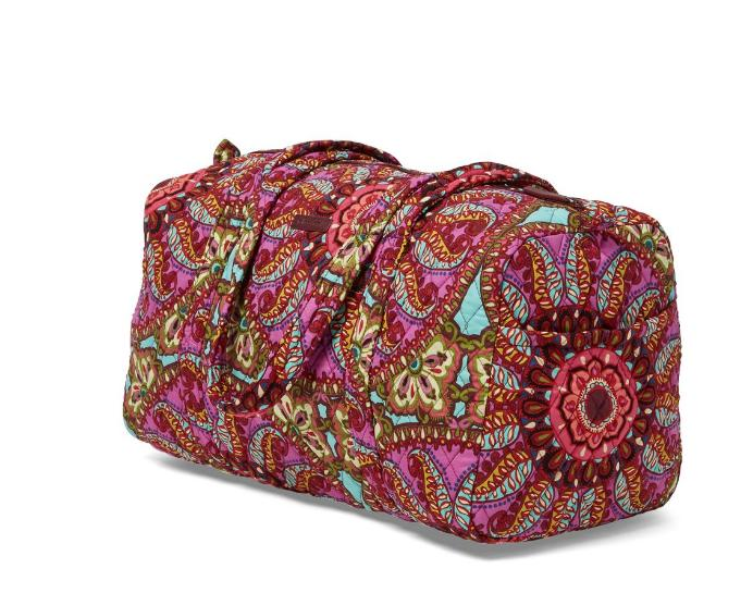 VERA BRADLEY SMALL + LARGE COSMETIC MEDALLION