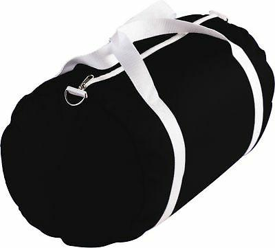 shoulder strap zippered nylon sport duffle bag