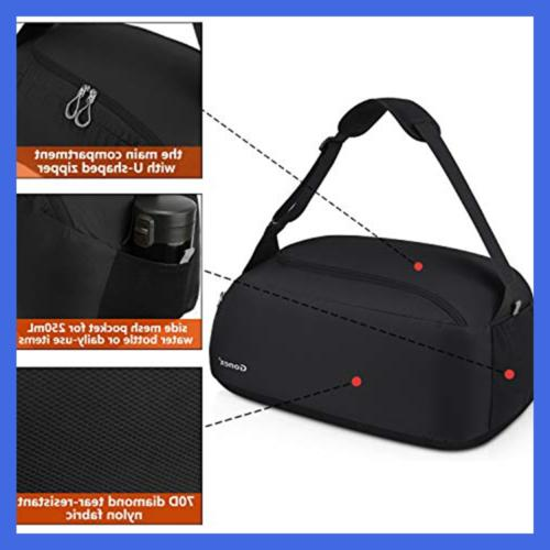 Gonex SMALL Bag Packable Travel Shoulder 38L Goods