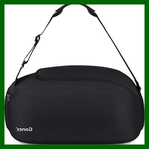 Gonex Bag Packable Travel Duffle 38L BLACK