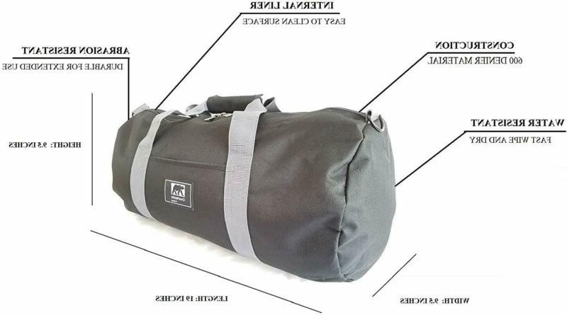 Small Bag Men And Sports Travel Overwake Black