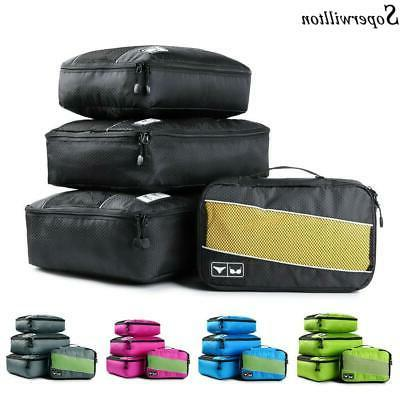 soperwillton packing cubes nylon travel organizer bag
