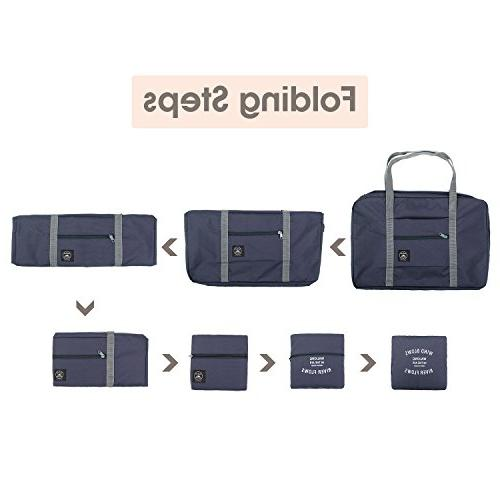 Wandf Foldable Travel Bag Sports Water Resistant