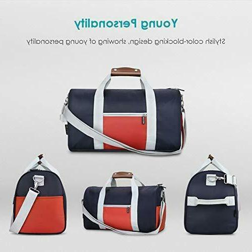 REYLEO Gym Small Duffel Bag Water Bags Leather