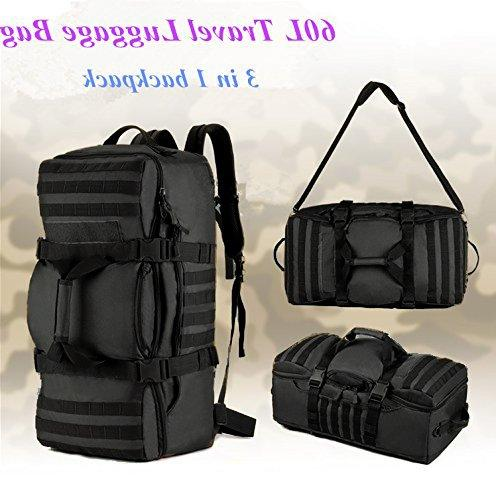 Tactical MOLLE Bag with Shoulder Straps Duffel Bag