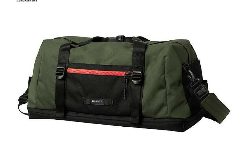 the tripper duffel bag small in forest