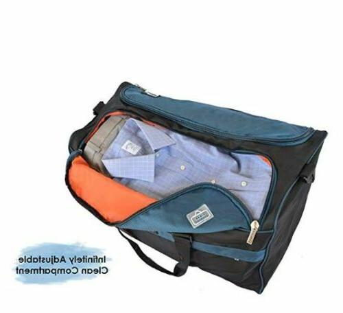 Clean2Dirty Travel Bag by 21-Inches Blue