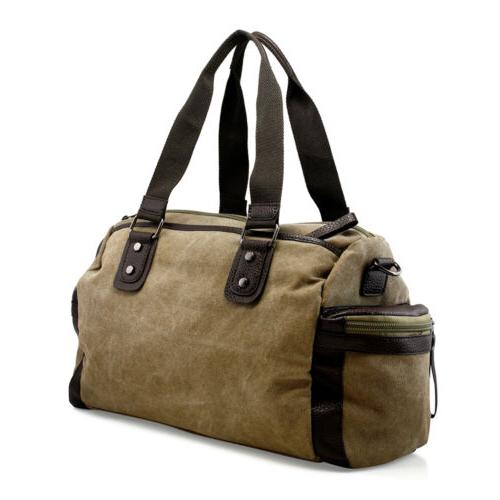 Vintage Men's Travel Tote Duffle