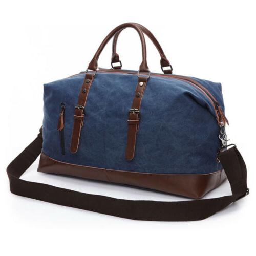 Vintage Duffle Bag Gym Handbag Shoulder