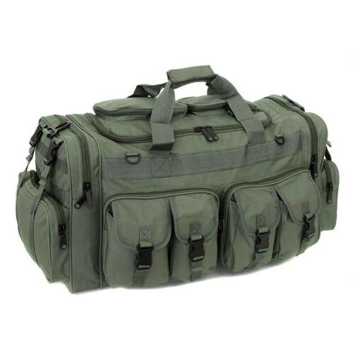 "30"" Duffle Bag Tactical Cargo Gear Shoulder"